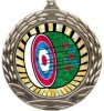 Wreath Insert Medal -Archery Archery Medals