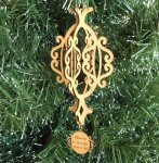 3D Christmas Ornament 3D Wood Christmas Ornaments
