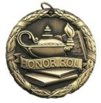Wreath Medal - Honor Roll Academic Medals
