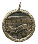Wreath Medal - Perfect Attendance Academic Medals