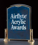 Marble Design Series Acrylic Award Acrylic Awards with Stand