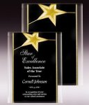Gold Star Acrylic Plaque Acrylic Plaques