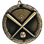Wreath Medal - Softball Baseball Medals