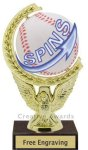 Spinner Baseball Award Baseball Trophies