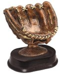 Antique Baseball Glove Baseball Trophies