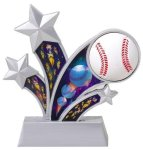 Baseball Holographic Rising Star Trophy Baseball