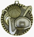Value Medal - Basketball Basketball Medals