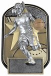 Rockin Jox Basketball Award (Female) Basketball Trophies