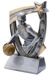 3D Star Basketball Award (Female) Basketball Trophies
