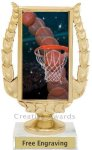 Holographic Basketball Award Basketball