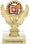 Eagle Basketball Trophy Basketball