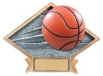 Basketball Diamond Resin Plate Basketball