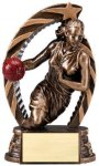 Action Basketball Trophy (Female) Basketball