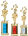 First-Third Place BMX Trophies BMX Trophies