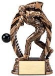Action Bowling Trophy (Female) Bowling Trophies
