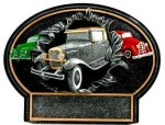 Burst Thru Antique Car Trophy Car Show Trophies