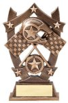 3D Sport Stars Racing Car Show Trophies