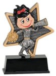 Little Pals Cheerleading Trophy Cheerleader