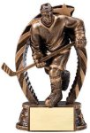 Action Hockey Trophy (Male) Cheerleading Trophies