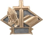 Religious - Diamond Plate Resin Trophy Christian Trophies