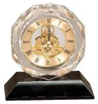 Crystal Clock Award Crystal Clocks