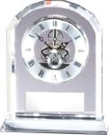 Dome Clock Crystal Award Crystal Clocks