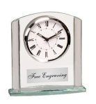 Clear Arch Glass Clock Economy clocks