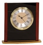 Mahogany Finish Column Clock Award Economy clocks
