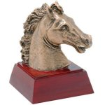 Horse Resin Equestrian Trophies