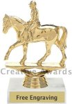 A Participation Equestrian Trophy Equestrian Trophies