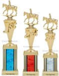 First-Third Place Equestrian Trophies Equestrian Trophies