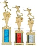 First - Third Place Flag Football Trophies 4 Flag Football Trophies