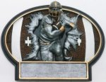 Burst Thru Football Trophy Flag Football Trophies