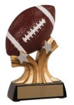 Football Shooting Star Resin Trophy Flag Football Trophies