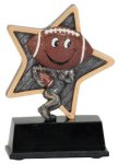 Little Pals Football Trophy Flag Football Trophies