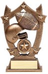 Stars Football Trophy Flag Football Trophies
