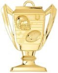 Trophy Cup Medal - Football Football Medals