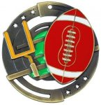 Color Star Medal - Football Football Medals