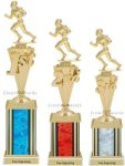 First-Third Place Football Trophy Football Trophies