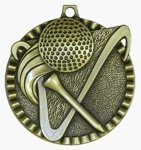 Value Medal - Golf Golf Medals