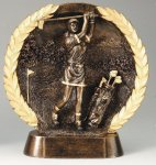 Resin Plate Golf Golf Trophies