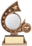 Resin Comet Series Golf Golf Trophies