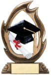 Flame Series Graduation Graduation Trophies