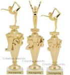 First - Third Place Gymnastics Trophies 1 Gymnastics Trophies
