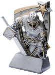 3D Star Hockey Goalie Award Hockey Trophies