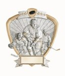 Signature Series Ice Hockey Shield Award Hockey Trophies