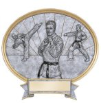 Legend Karate Oval Award Karate Trophies
