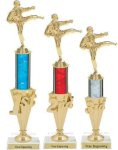 First - Third Place Karate Trophies 2 Karate Trophies
