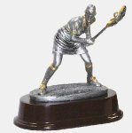 Female Lacrosse Defense Lacrosse Trophies