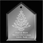 Christmas Tree Ornament 2 Mirror Christmas Ornaments | House